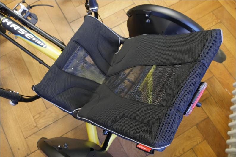 Hase Mesh-Sitz. Foto: xplorcycles